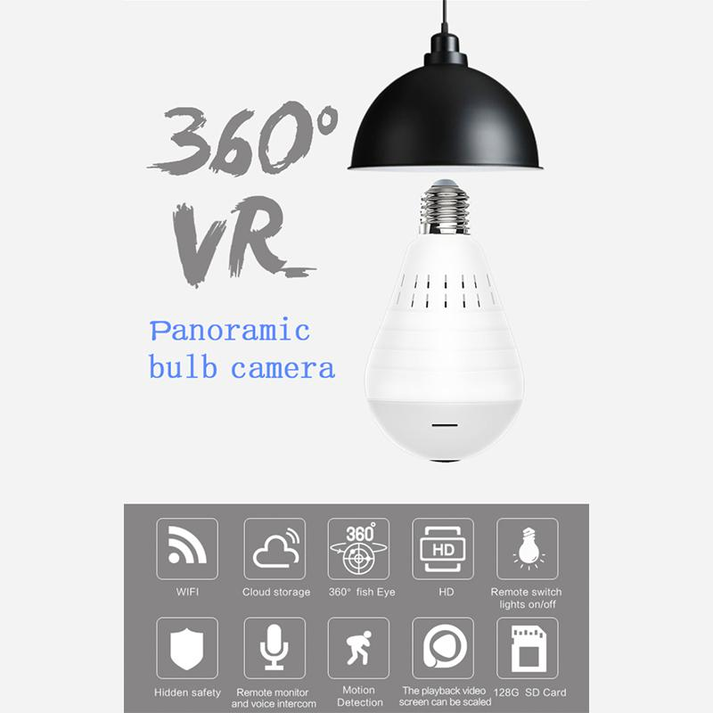 Panoramic Camera Light Bulb - Elicpower